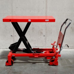 Manual lifting table