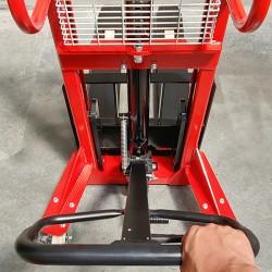 Timon ergonomique