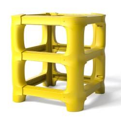 Protection universelle modulaire pour piliers et mâts de grande taille