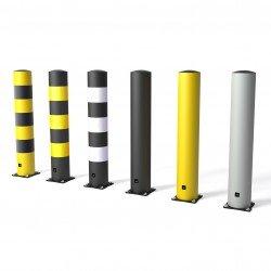 Anti-collision protection column
