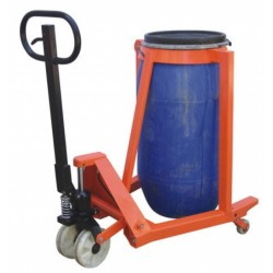 Barrel pallet truck