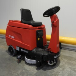 the most compact professional scrubber-dryer on the market